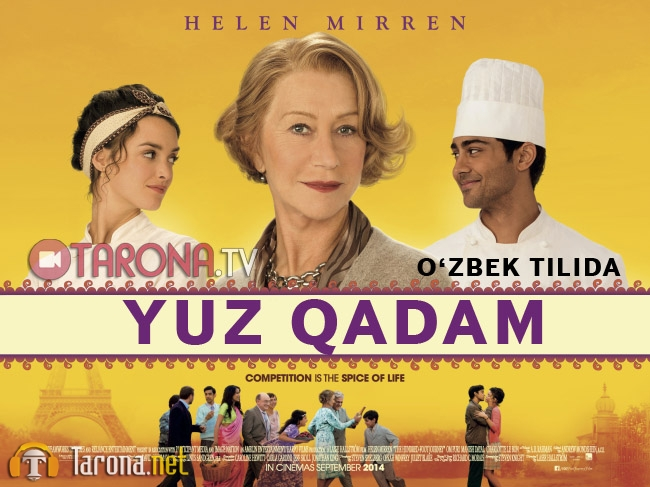 Yuz Qadam Tarjima Ozbek tilida