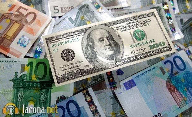 O'zbekistonda dollarning rasmiy kursi 5 so'm 33 tiyinga qimmatlashdi
