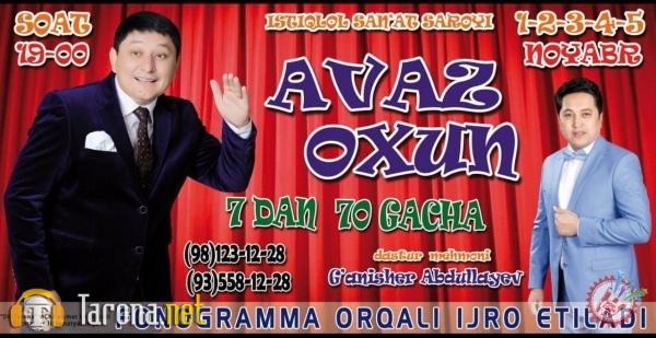 Avaz Ohundan yangi konsert